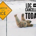 Weather Alert – Tues 1/22 LDC Classes Cancelled