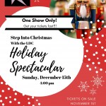 Holiday Spectacular – Sunday, Dec. 15th