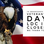 LDC is Closed on Veteran's Day